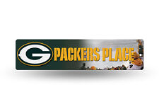GREEN BAY PACKERS PLACE ~ Wall Display 4 x 17 Street Sign Decoration ~ New!