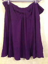 Simply Be Women Top Purple Casual Plus Size 28