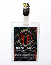 Fringe Division Special Agent ID Badge Sci-Fi Cosplay Prop Costume Christmas