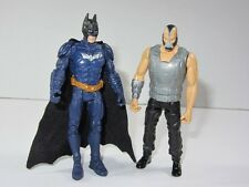 "DC  Batman 4"" Toy Figure Set  BLUE BATMAN vs BANE"