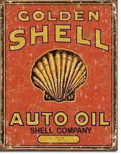 Shell Auto Oil Schild Werkstatt Tankstelle Gasoline Reklame