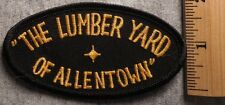 THE LUMBER YARD OF ALLENTOWN PATCH (CONSTRUCTION, HARDWARE)