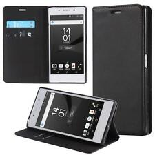 Sony Xperia Z5 Premium  Custodia Flip Portafoglio Case  Cover Wallet Etui