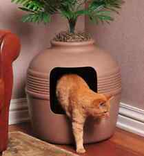 Cat Litter Box Enclosed Hidden Hooded Cover Best Decorative Corner Furniture
