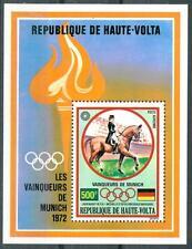 ALTO VOLTA (BURKINA FASO) - BF - 1973 - I vincitori dei Giochi Olimpici a Monaco