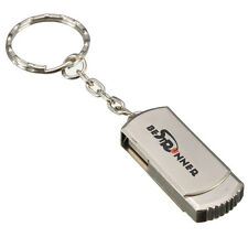 BESTRUNNER 64MB USB 2.0 Silver Metal Swivel Flash Memory Stick Pen Drive U DIsk