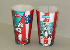 "Dr. Seuss ""Cat in the Hat"" 3D HOLOGRAM CUPS 16oz Universal Island of Adventure"