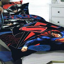 Batman v. Superman - DC Comics - Double/US Full Bed Quilt Doona Duvet Cover Set