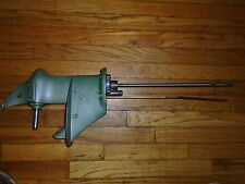 1953-1954 Johnson 5.5 HP CD 11 Lower unit Assembly Gear Box-Complete