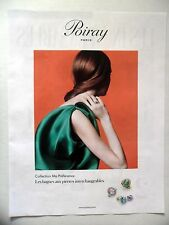 PUBLICITE-ADVERTISING :  POIRAY Collection Ma Préférence  2016 Bagues,Bijoux