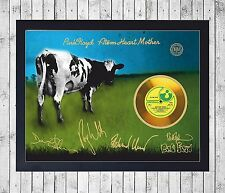 PINK FLOYD ATOM HEART MOTHER (1) CUADRO GOLD/PLATINUM CD EDICION LIMITADA FRAMED