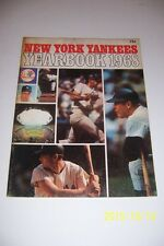 1968 NEW YORK YANKEES Yearbook MICKEY MANTLE Bobby MURCER Mel STOTTLEMYRE