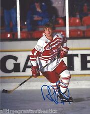 AVALANCHE ROB BLAKE SIGNED ALL STA GAME 8X10 PHOTO A W/COA HOCKEY HALL OF FAME