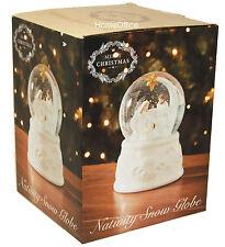 Christmas Snow Globe Xmas Festive Ornament New Nativity