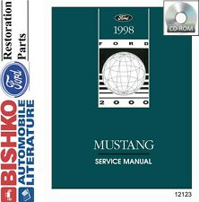 1998 Ford Mustang Shop Service Repair Manual CD Engine Drivetrain Electrical OEM
