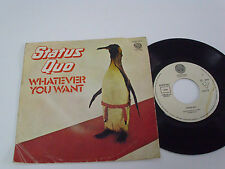 "STATUS QUO Whatever You Want -1979 PORTUGAL 7"" single - Portuguese release"