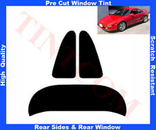 Pre Cut Window Tint Toyota MR2 Coupe 2D 90-00 Rear Window &Rear Sides Any Shade