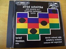 SCHNITTKE CELLO CONCERTO N° 1 HYMNS THEDEEN CD BIS