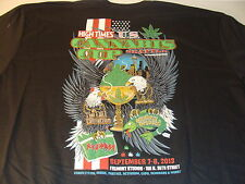 HIGH TIMES U.S. 1ST SEATTLE CANNABIS CUP T-SHIRT SOLD ONLY AT EVENT SIZE SM NEW