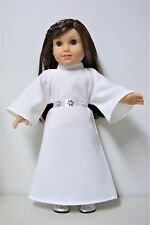 "Handmade Doll Clothes Star Wars Princess Leia Costume 18"" American Girl Dolls"