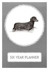 S/H Dachshund Dog Show Six Year Planner/Diary by Curiosity Crafts 2017-2022