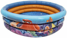 FINDING DORY 3 RING PADDLING POOL INFLATABLE SWIMMING TODDLER TOY BABY GARDEN