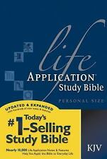 Life Application Study Bible KJV, Personal Size (2007, Paperback)