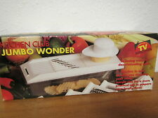 "Vintage KITCHEN CLUB "" JUMBO WONDER "" 7 funtions in one as seen on TV"