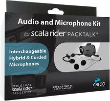 Cardo Scala Rider Bluetooth Helmets Motorcycle Packtalk Audio/Microphone Kit