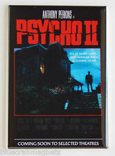 Psycho 2 FRIDGE MAGNET (2.5 x 3.5 inches) movie poster norman bates