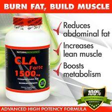 CLA Forte 1500mg, 120 Capsules - #1 Natural Fat Burner - Maximum Strength