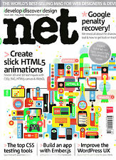 .NET Magazine #240 May 2013 @NEW@ SLICK HTML5 ANIMATIONS Top CSS Testing Tools