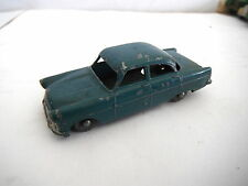 MATCHBOX LESNEY No 33 FORD ZODIAC DARK GREEN & HOOK 1957 CHIPPED