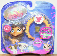 809 Special Edition Fuzzy Pet littlest pet shop rare NEW retired Fuzzy Lion
