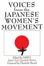 Voices from the Japanese Women's Movement: Ampo Japan-Asia Quarterly Review (Jap