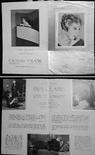CIRCA 1934 INA CLAIRE ODE TO LIBERTY ILLUSTRATED THEATER PROGRAM ANNOUNCEMENT
