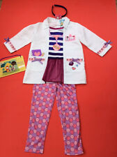 Disney Doc McStuffins Dress Up Costume Complete Outfit deluxe age 2/3  years