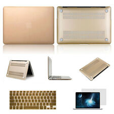 Champagne Gold Laptop Cover Case Keyboard Skin For Apple Mac Book Pro 13 13.3""