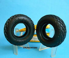 "Vintage Proline 1.5"" Waffle / Diamond Front Tires Tamiya 1015 RC Part"