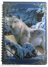 LUPO NELLA NEVE 3D LENTICULAR NOTEBOOK A6