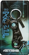 Tron Legacy Pewter Light Cycle Keyring - Sam Flynn Disney 2010 Key chain fob