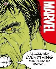 Marvel Absolutely Everything You Need to Know by Adam Bray and John Sazaklis...