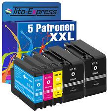 5 für HP 932 933 XL Officejet 6100 6600 6700 7110 7610 7612 Premium ePrinter AIO