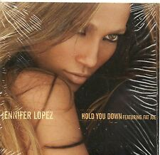 CD CARTONNE 2T  JENNIFER LOPEZ  HOLD YOU DOWN  TRES BON ETAT  DE 2005