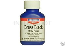 Birchwood Casey BRASS BLACK Metal Finish Copper Bronze