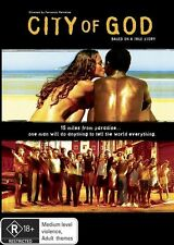 City of God DVD - Free Local Post - New & Sealed - Portugese Language Film