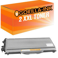 2 toner XL para Brother tn2120 hl2140 hl-2150n hl-2170w dcp7030 dcp7040 mfc7320