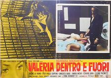 FOTOBUSTA 1, VALERIA DENTRO E FUORI, BOUCHET, CAPPONI, ERNA SCHURER, RONDI