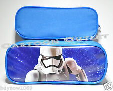 STAR WARS PENCIL PEN BAG CASE POUCH COSMETIC BAG STORMTROOPER THE FORCE AWAKENS