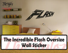 The Incredible Flash Oversize Wall Vinyl Sticker
